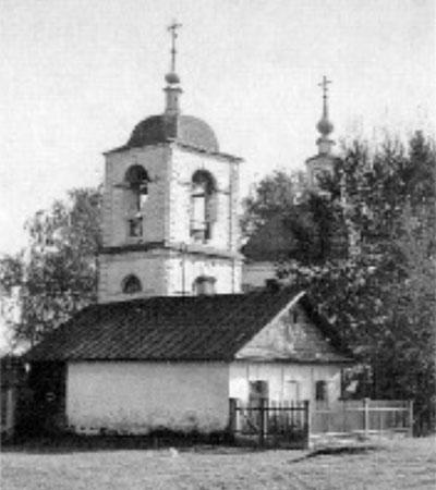 Сторожка при Никольской церкви (фото 1988 г.)