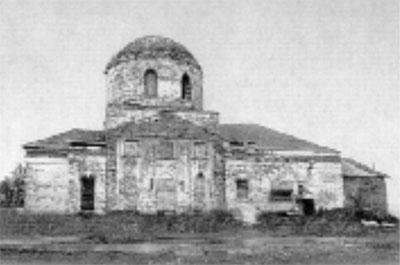 Церковь Воскресения (фото 1988 г.)