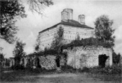 Церковь Успения (фото 1988 г.)