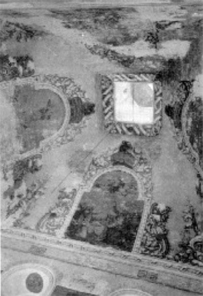 Роспись свода (фото 1973 г.)