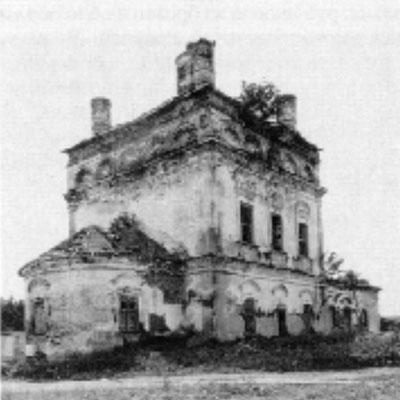 Церковь Михаила Архангела (фото 1988 г.)