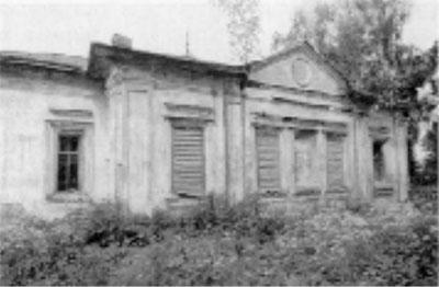 Церковь Преображения (фото 1988 г.)
